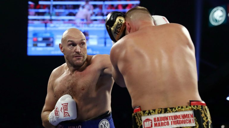Dougie's Monday mailbag (Tyson Fury, the lineal championship, Briedis-Glowacki, Robert Byrd)