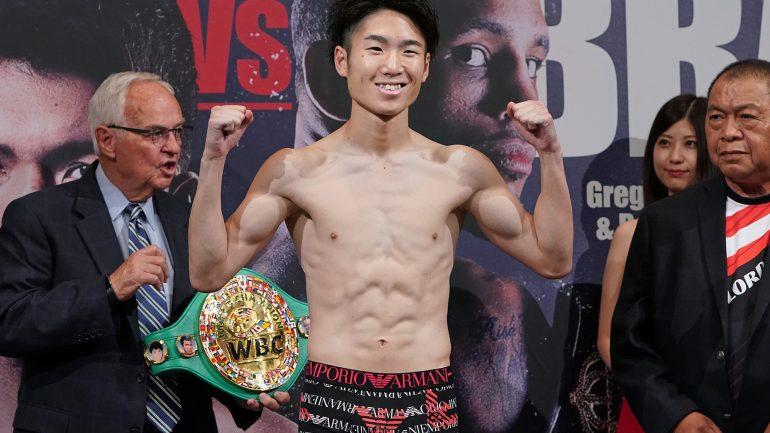 Masamichi Yabuki stops Kenshiro Teraji in massive upset, wins junior flyweight belt