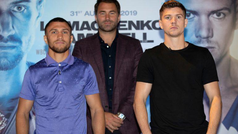Press Release: Vasiliy Lomachenko-Luke Campbell press conference quotes
