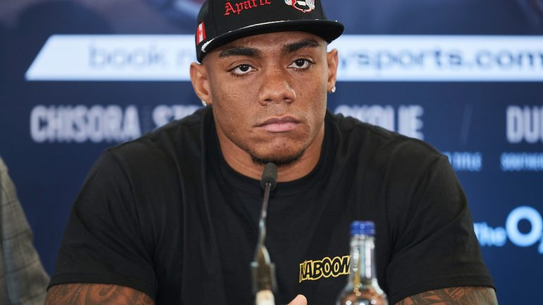 Oscar Rivas: 'We know Dillian Whyte is a strong fighter and a good puncher'