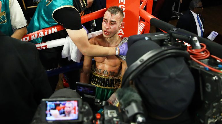 Maxim Dadashev rushed to the hospital after TKO loss to Subriel Matias