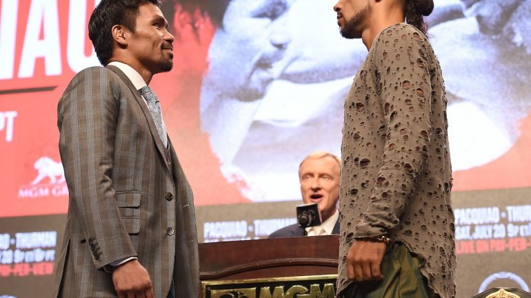 Watch: Manny Pacquiao-Keith Thurman final press conference highlights