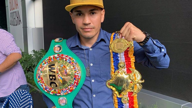 Juan Francisco Estrada faces Carlos Cuadras on Friday, targets Chocolatito