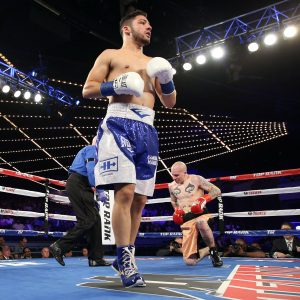 julian rodriguez knockdown 300x300 - After a 22-month layoff, Julian Rodriguez is ready to pick up where he left off