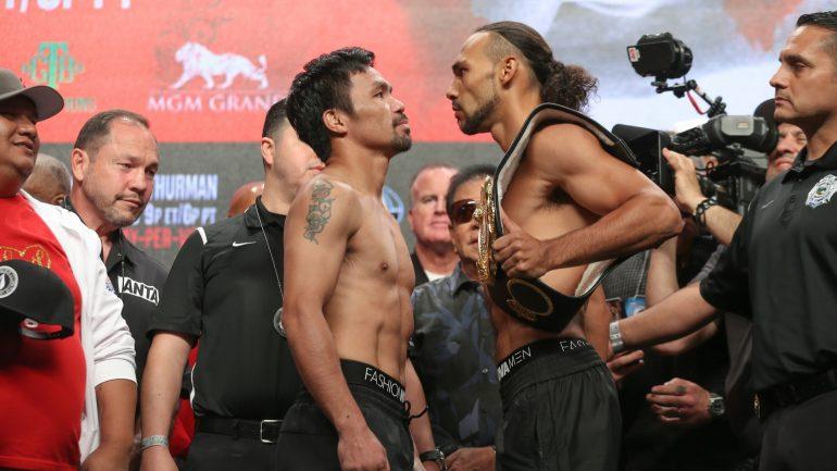 Watch: Nonito Donaire and Shawn Porter breakdown Pacquiao-Thurman and predict the winner