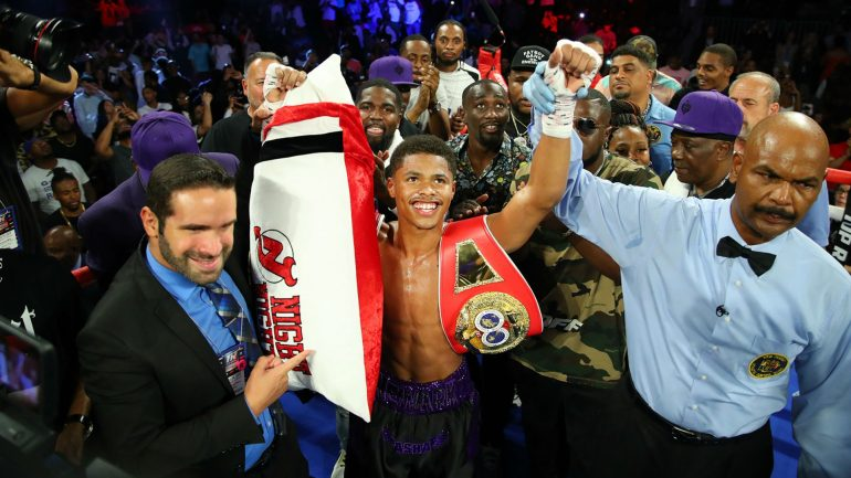 Shakur Stevenson continues his quest for perfection