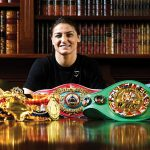 taylor beltsGettyImages 1148313381 150x150 - Katie Taylor, Terri Harper and Rachel Ball star in historic world title triple-header