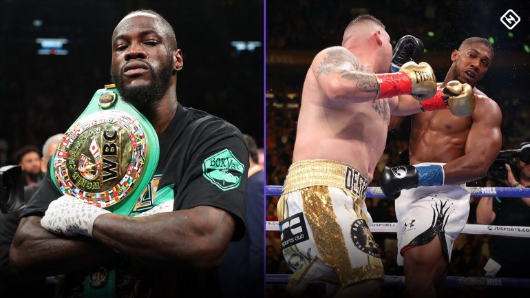 Deontay Wilder continues to jab Anthony Joshua over upset loss to Andy Ruiz Jr.