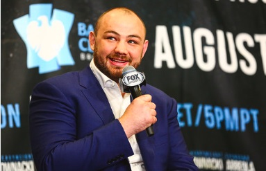 Heavyweight Adam Kownacki