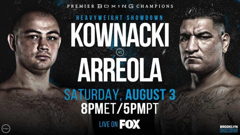 Adam Kownacki vs. Chris Arreola presser brings high spirits