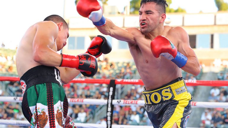 Ronny Rios determined to continue career-upswing when boxing resumes