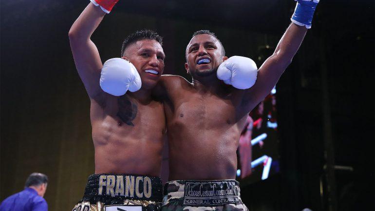 Joshua Franco and Oscar Negrete fight to another draw on Ortiz-Orozco underard