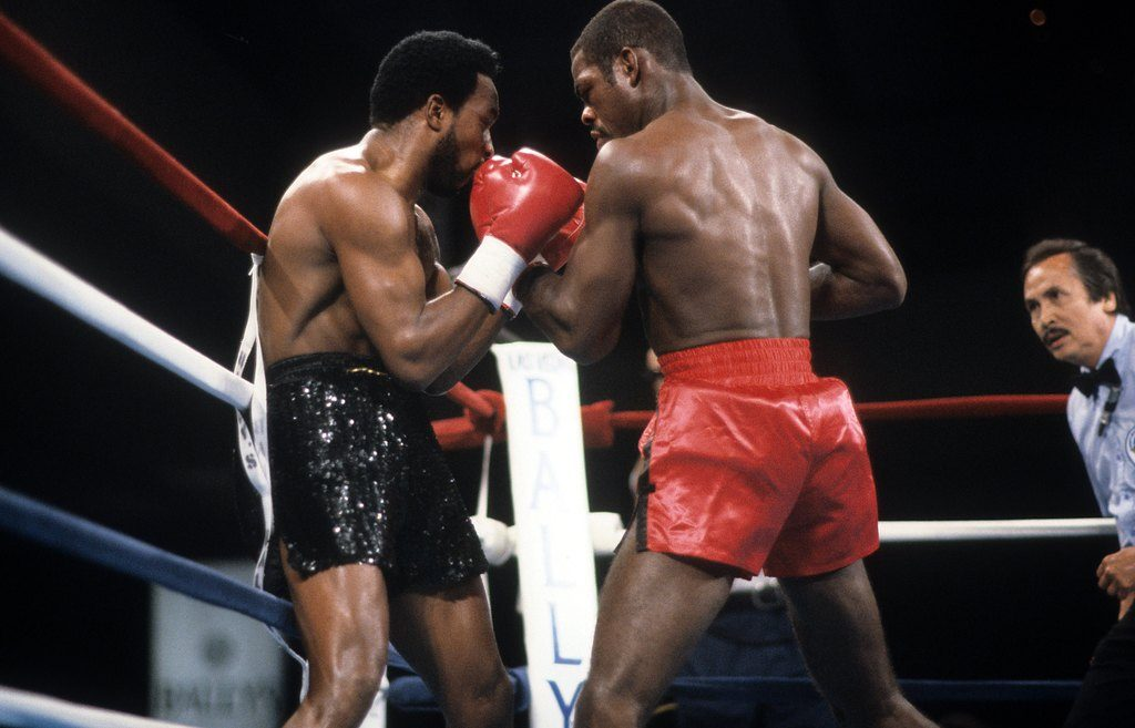 GettyImages 163601958 1024x657 - On this day: Nigel Benn batters Iran Barkley, scores first-round stoppage