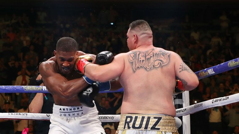 Anthony Joshua wants to rediscover passion before Andy Ruiz Jr. rematch