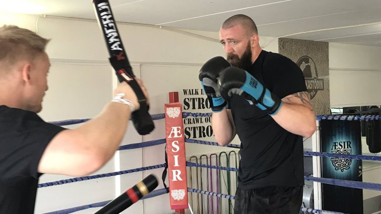 Icelandic heavyweight Kolbeinn Kristinsson fights for his right to fight
