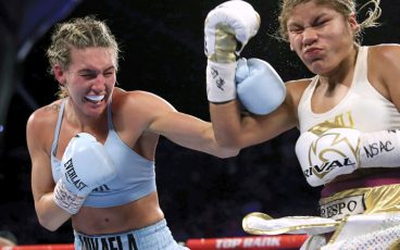 From potential rock star to potential boxing star, Mikaela Mayer has always trusted her path