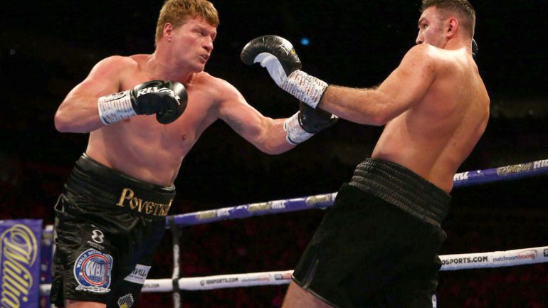 Alexander Povetkin scores 12-round unanimous decision over Hughie Fury in poor fight