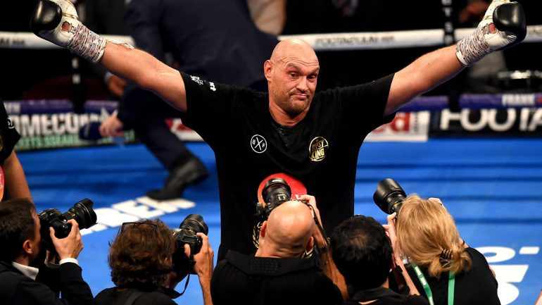 Tyson Fury says Deontay Wilder rematch is set for February 22
