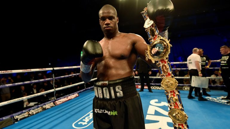 Daniel Dubois: 'I want to fulfill my potential and become the heavyweight champion of the world'