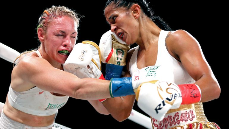Heather Hardy: 'A lot of people counted me out against Amanda Serrano'