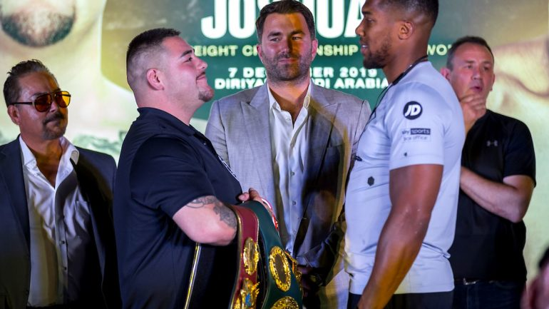 Press Release: Andy Ruiz-Anthony Joshua 2 Saudi Arabia press conference quotes