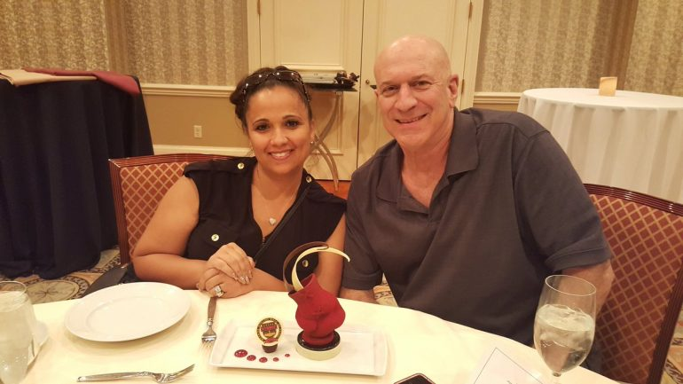 Michelle Corrales-Lewis takes the Nevada Boxing Hall of Fame to new heights