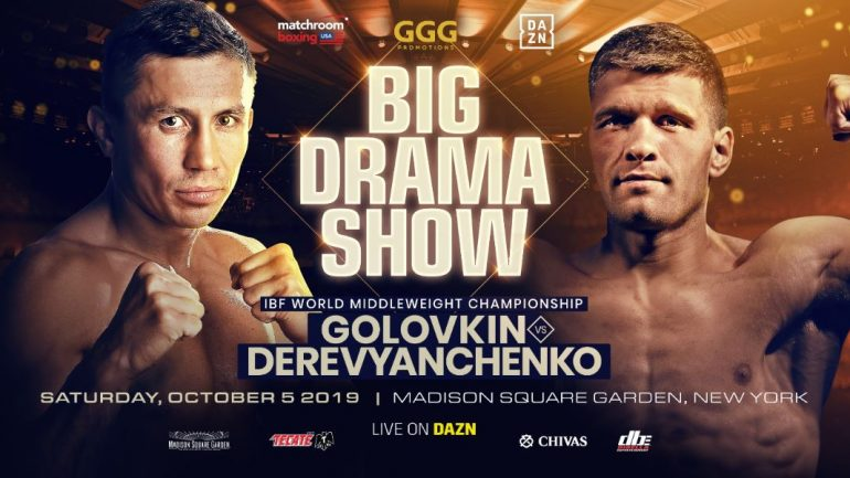 Golovkin focused on Derevyanchenko but has plans beyond Canelo
