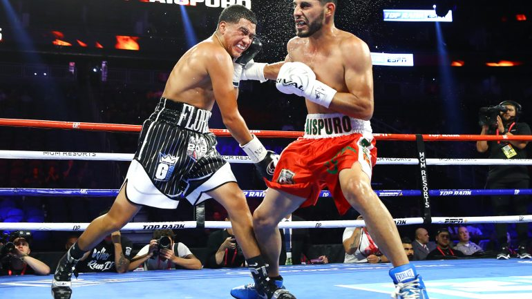 Gabriel Flores remains undefeated with a decision victory on the Fury-Wallin undercard