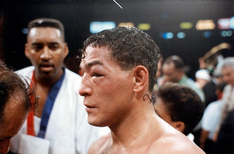 GettyImages 157454442 - On this day: Julio Cesar Chavez dominates Hector Camacho in Las Vegas