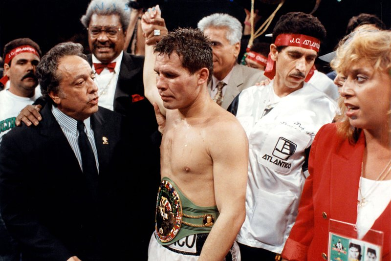 GettyImages 157454454 - On this day: Julio Cesar Chavez dominates Hector Camacho in Las Vegas