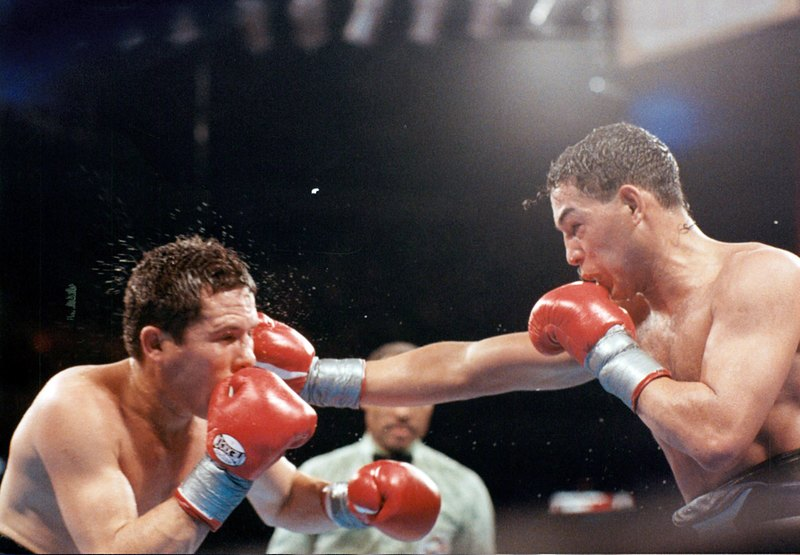GettyImages 157454458 - On this day: Julio Cesar Chavez dominates Hector Camacho in Las Vegas
