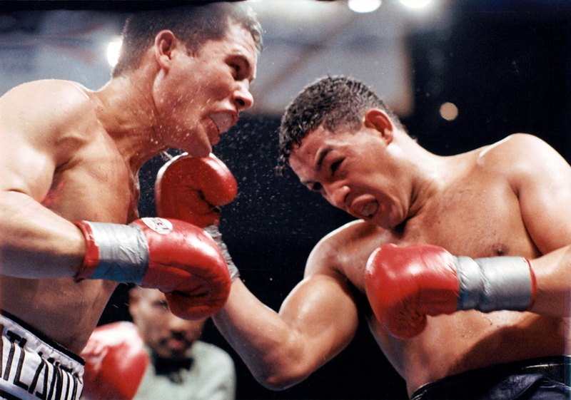 GettyImages 157454462 - On this day: Julio Cesar Chavez dominates Hector Camacho in Las Vegas