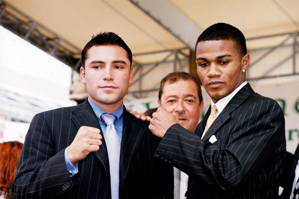 GettyImages 158063754 1024x684 - 'Fight of the Millennium': The 20-year anniversary of Oscar De La Hoya-Felix Trinidad