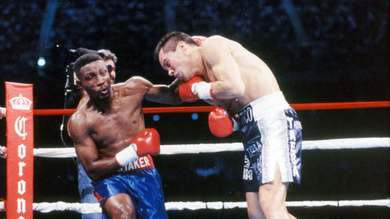 On this day: Pernell Whitaker wins the draw against Julio Cesar Chavez in San Antonio