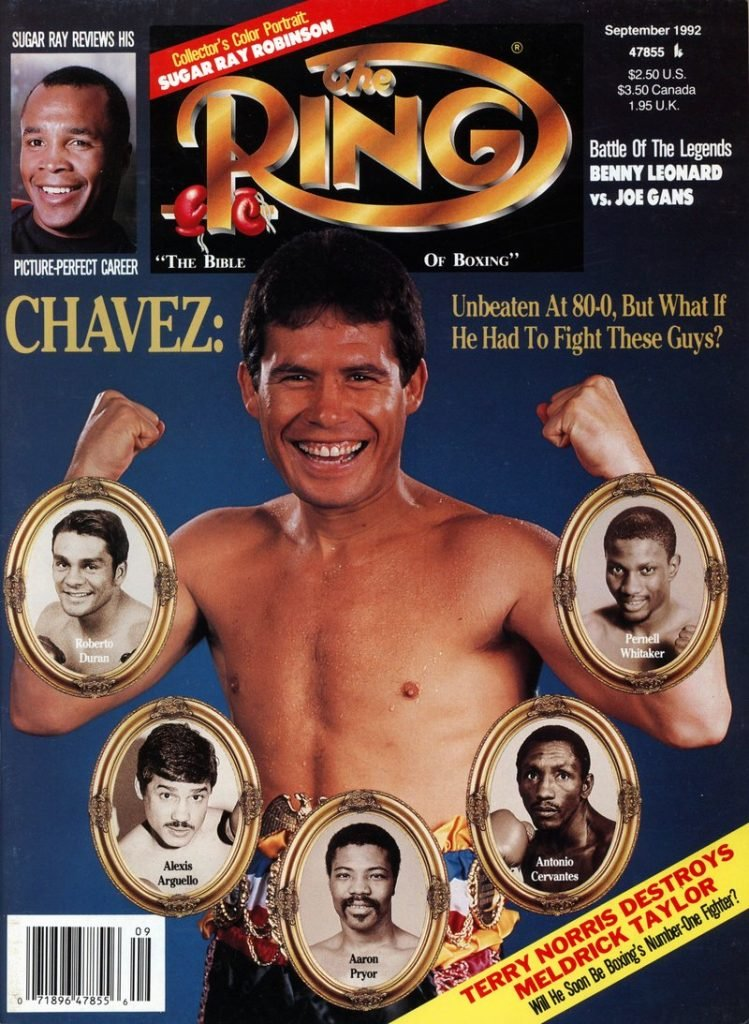 GettyImages 159922694 749x1024 - On this day: Julio Cesar Chavez dominates Hector Camacho in Las Vegas