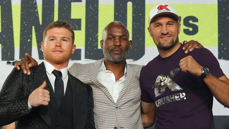 Watch: Bernard Hopkins says fight is a risk for Canelo, and Kovalev too