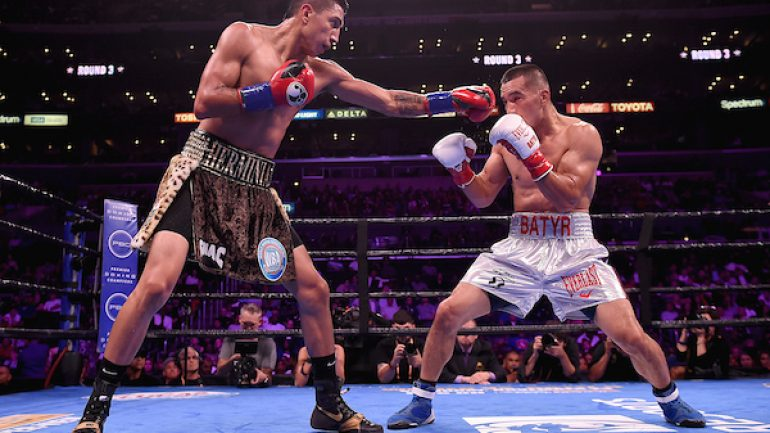 Mario Barrios claims his biggest victory on the Spence-Porter undercard