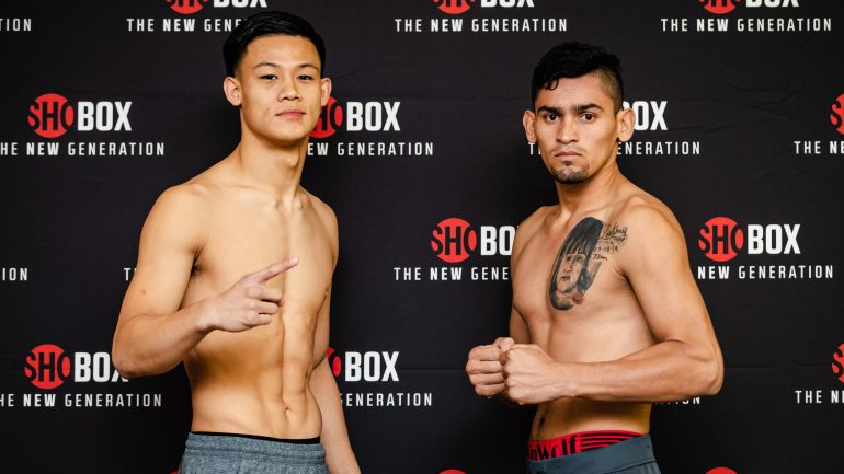Brandun Lee puts himself – and his record – to the test in ShoBox debut