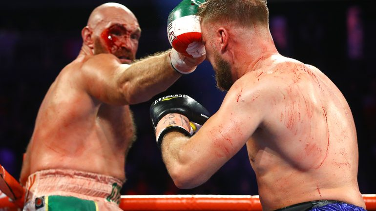 Ring Ratings Update: Tyson Fury holds onto top heavyweight spot
