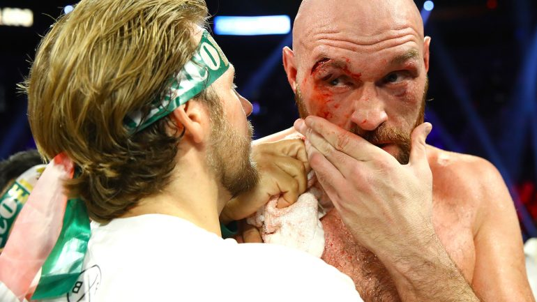 Tyson Fury and trainer Ben Davison split amicably, Fury now working with Sugar Hill