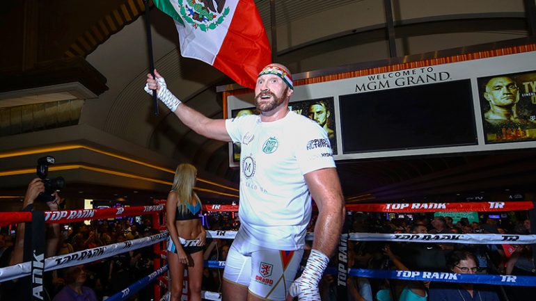 Tyson Fury: 'I'm the unrivalled personality of my era, I don't know anybody who can compare'