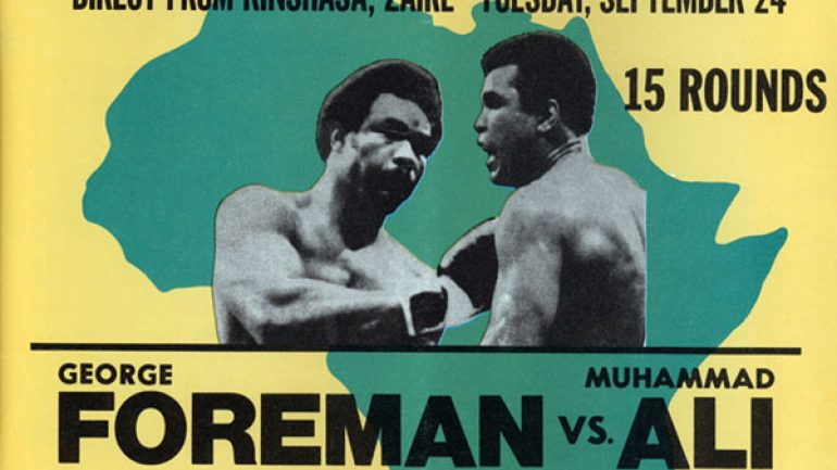 Muhammad Ali outfought, outwitted and outlasted George Foreman in a classic upset