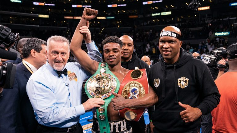 Ring Ratings Update: Should Errol Spence drop in the pound-for-pound rankings?