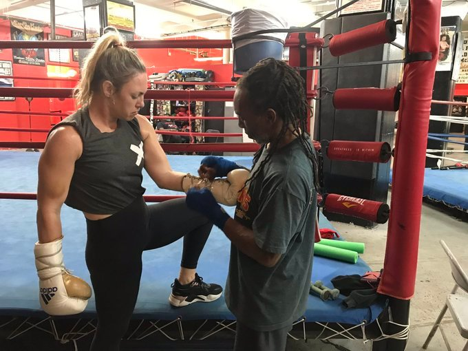 heather hardy devon cormack - For Heather Hardy, boxing's gender pay gap is the toughest opponent