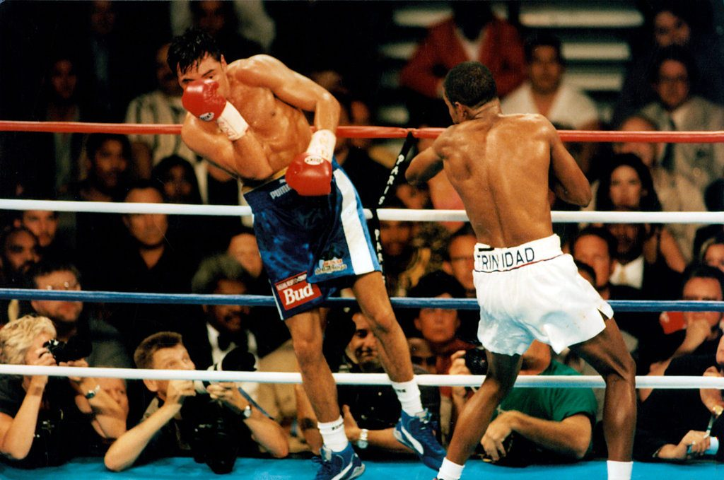 rsz gettyimages 158063796 1024x679 - 'Fight of the Millennium': The 20-year anniversary of Oscar De La Hoya-Felix Trinidad
