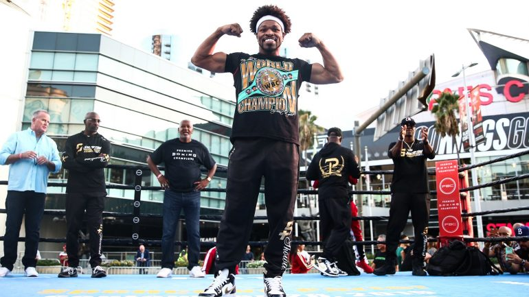 Watch: Shawn Porter says he's a cleaner fighter than Errol Spence Jr. thinks