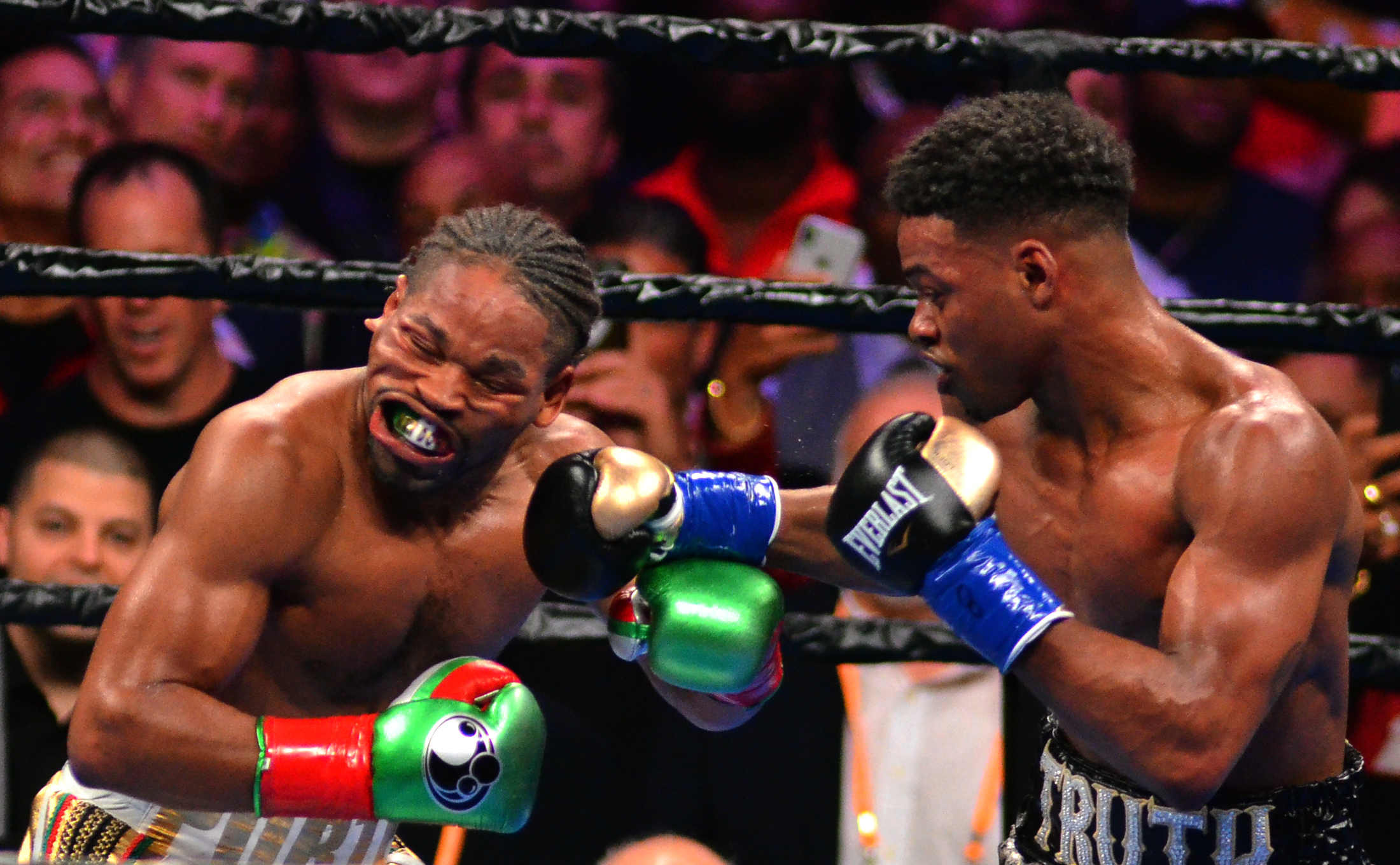Errol Spence Jr. rallies to outpoint Shawn Porter by split ...