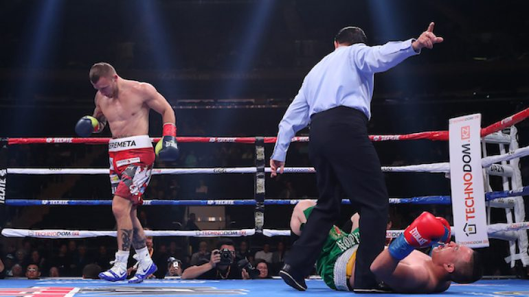 Kamil Szeremeta impresses on GGG-Derevyanchenko card; Joe Ward suffers shock loss