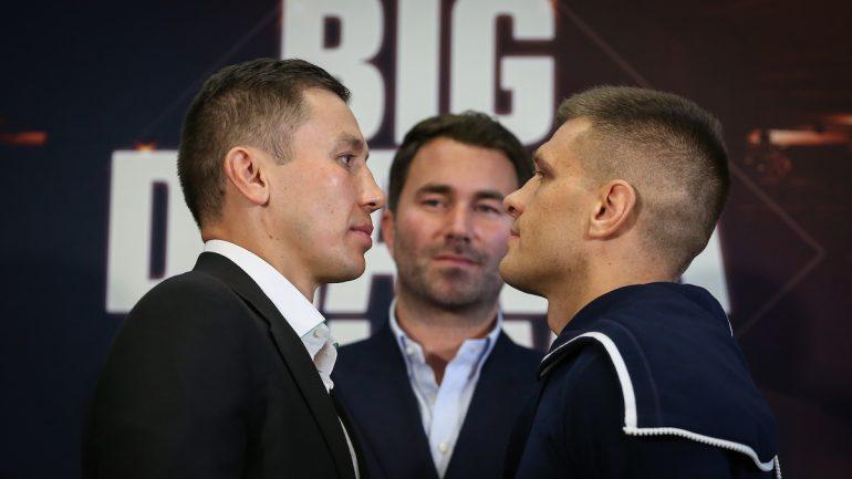Gennadiy Golovkin-Sergey Derevyanchenko press conference quotes