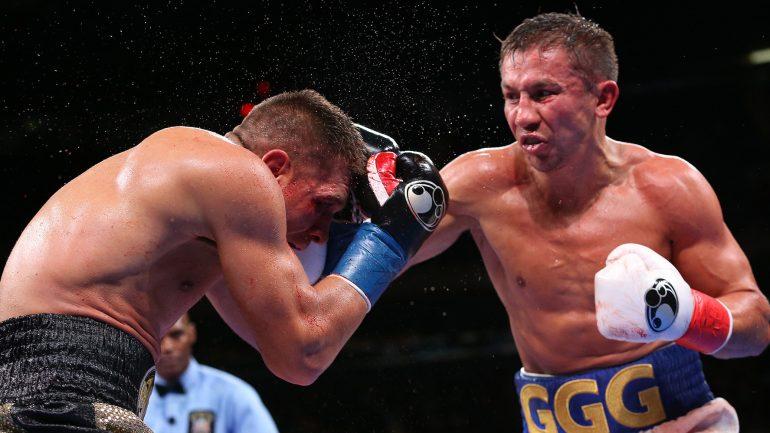 Gennadiy Golovkin outlasts Sergiy Derevyanchenko in instant classic, wins middleweight belt